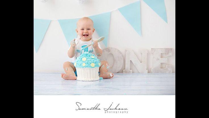 Cake Smash Session - Samantha Jackson Photography