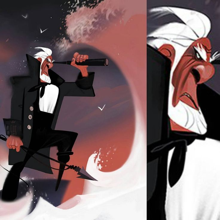 Captain Ahab #mobydick   #capitainahab #captain #characterdesign #character #animation #art #artist #cartoon #personality #conceptart #visdev #visualdevelopment #animation #shapelanguage #personality #pose #concept #drama #mad #graphic