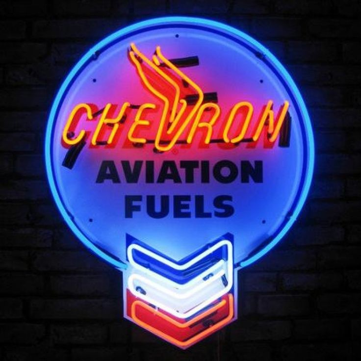 Find best Chevron Aviation Fuels Neon Sign for sale, Affordable Chevron Aviation Fuels Neon Sign, 2 years of quality warranty, 100% undamage guaranteed.