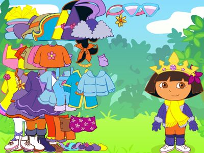 Dora's Dress-up Game