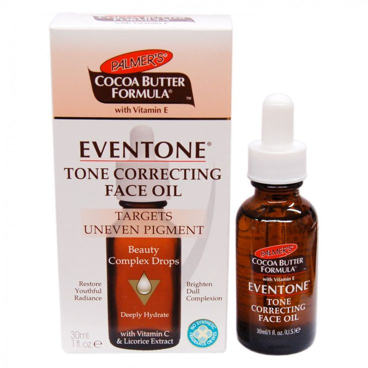 Palmer's Cocoa Butter Formula Eventone Tone Correcting Face Oil 1oz