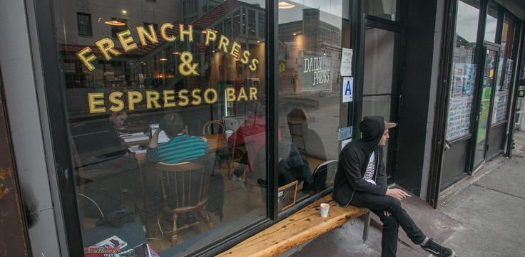 Daily Press was founded on the principle of celebrating the heritage of historic Bed-Stuy while providing the community a space to enjoy great coffee and espresso drinks. The friendly and knowledgeable staff serves up a mean cortado that pairs perfectly with a chewy NY bagel from local favorite, Terrace Bagels. The space is small but comfortable with exposed brick and reclaimed wood. There is also backyard garden with additional seating open year round. Now serving beer and wine.
