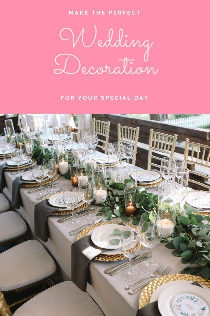 Liven Up Your Own Wedding Event Decorations With One Of These Spectacular Wedding Wedding Decorations Wedding Design Decoration Affordable Wedding Decorations