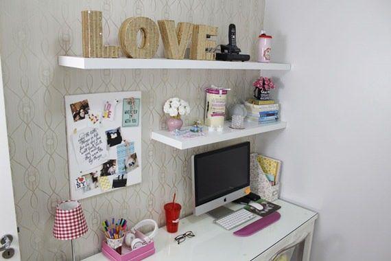 Como decorar o home office - objetos de decoração - LOVE