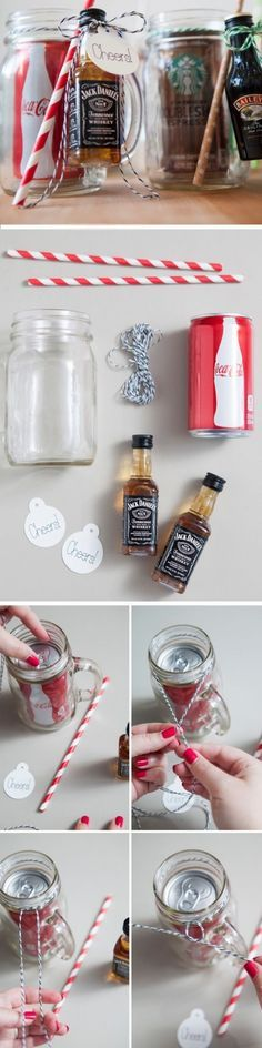 "45 Homemade Christmas Gift Ideas to make him say ""WOW"" More                                                                                                                                                                                 More"