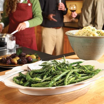 Garlicky Green Beans - Vegetable Side Dishes - Thanksgiving Recipes ...