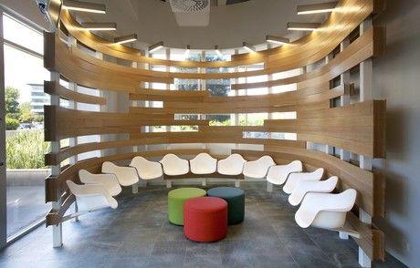 medical clinic design :: waiting area.