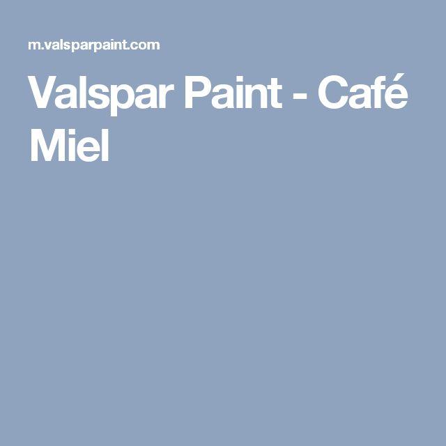 Valspar Paint - Café Miel