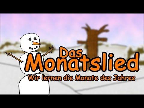 """Monate Lied deutsch - Jahreszeiten lernen im Zeitraffer   """"Calendar Song german"""" Month of the Year - YouTube"""