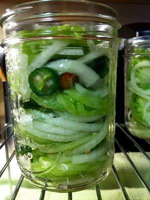 Pickled Green Tomato Salad | Eat. Drink. Nourish.