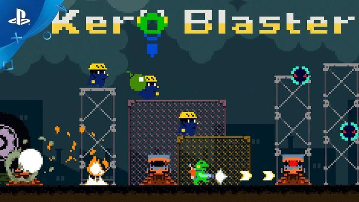 [Video] Kero Blaster - Launch Trailer   PS4 #Playstation4 #PS4 #Sony #videogames #playstation #gamer #games #gaming