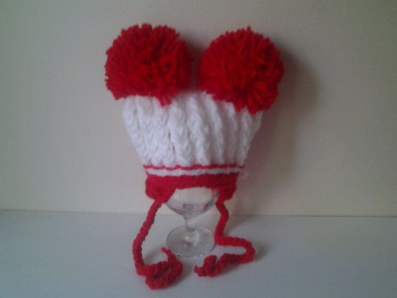 Hand crochet baby girl-boy hat newborn-3 month by crochetfifi
