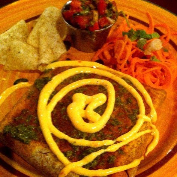 Veggie Curry Wrap