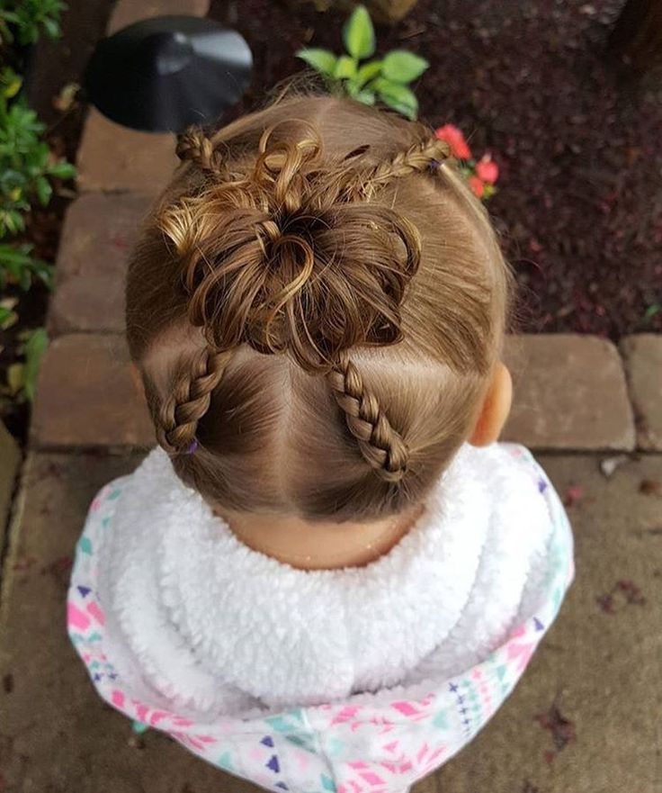 "186 curtidas, 4 comentários - Angie • HAIR FEATURES (@tangledandtrue) no Instagram: ""Darling #toddlerhairstyle by @blondehairncurls! Her account is pretty new...go check it out!!"""