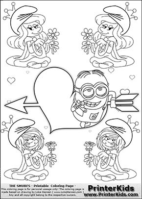 7 best Minions Coloring Pages images on Pinterest  Minions