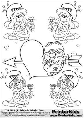 248 Bsta Bilderna Om Minions Coloring Pages P Pinterest