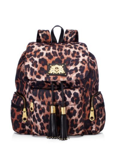 Juicy Couture Backpack In Leopard Print Yes I Will Blow My Textbook Budget On