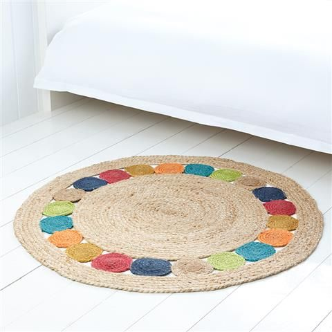 Roomates floor rug with spot | Kmart