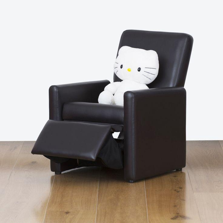 Watoto Kids Recliner Chair - Jet Black | RP: $125.00, SP: $100.00