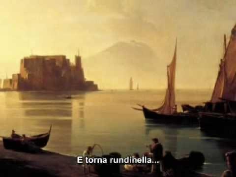 Massimo Ranieri I' te vurria vasà canzone d'amore romantica musica classica napoletana - YouTube