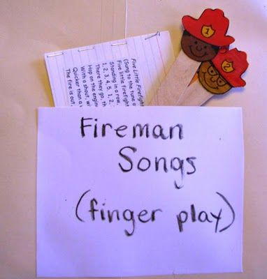 Firemen song. Make ur own firemen sticks!