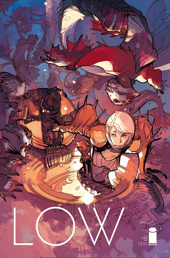 Low #8 - Art and cover by Greg Tocchini