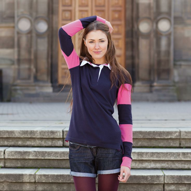 Womens Rugby Top (comes in a range of colours)