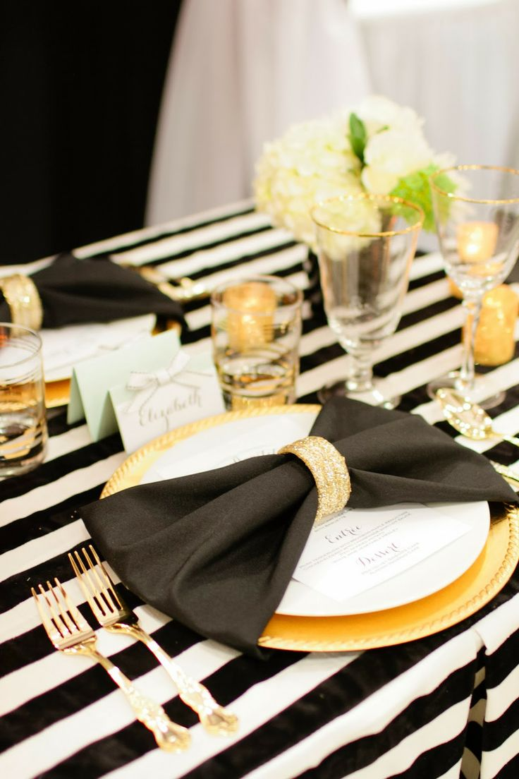 Abby Mitchell Event Planning and Design: black and white wedding