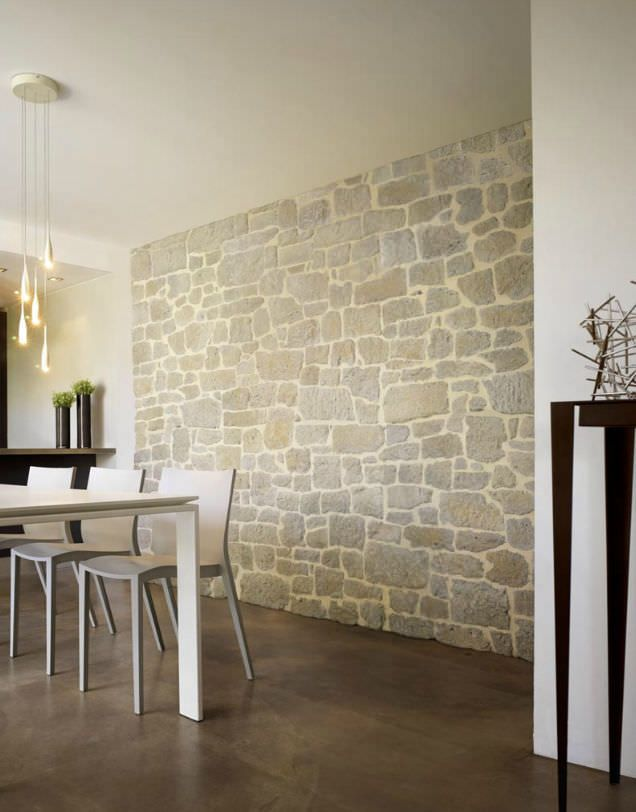 Oltre 25 fantastiche idee su parement pierre interieur su for Mur de pierre naturelle interieur