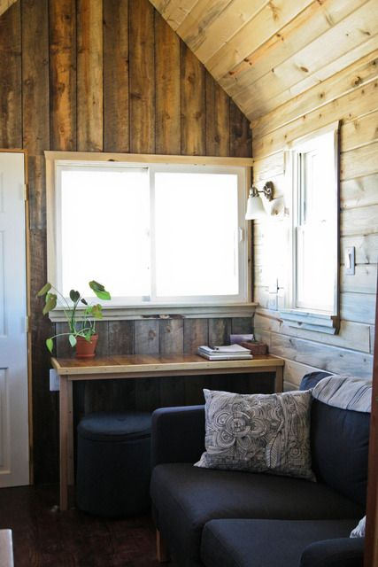 : Christopher & Merete's Tiny Home on the Range : Apartment Therapy
