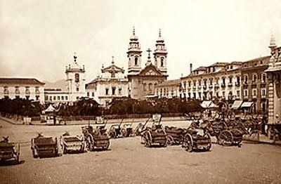 CHARRETES DE ALUGUEL, RIO DE JANEIRO 1890.