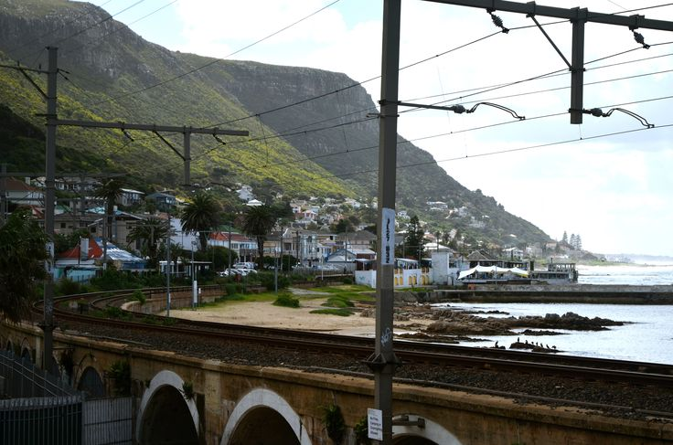 Love the curve of the train tracks. The mountain and sea view is absolutely awesome. #ILoveKalkBay #KalkBay #CapeTown