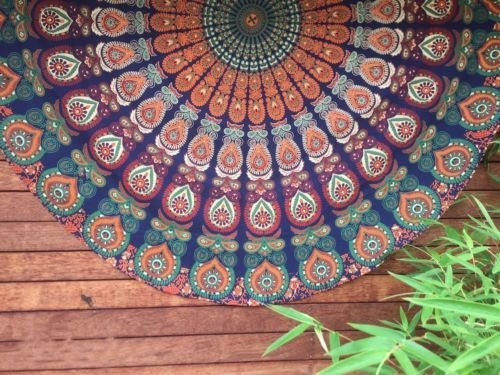 Bedspreads – Mandala Tapestry Handmade Vintage Blanket Towel  – a unique product by IndianCraftPalace on DaWanda