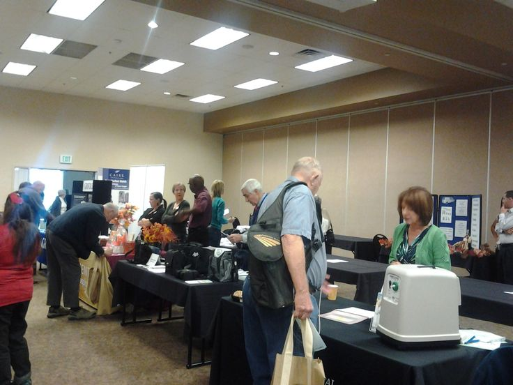 Vendors and participants at the 2013 Lung Health Conference
