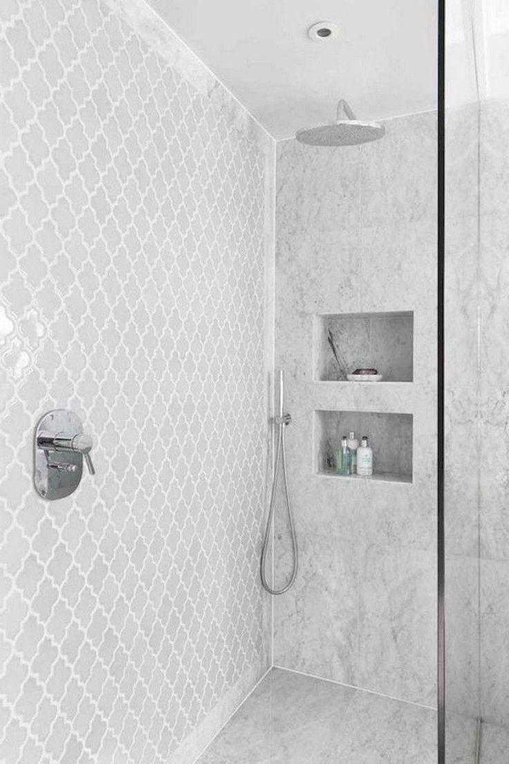 Most Popular Farmhouse Shower Tile Ideas and Designs for ... on Farmhouse Bathroom Tile  id=22434