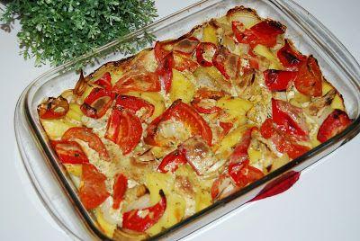 O kuchni z uczuciem : Schab zapiekany z warzywami