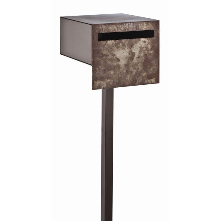 Letterbox W/post Buzon Miguel Raw Steel Buzp03 $315