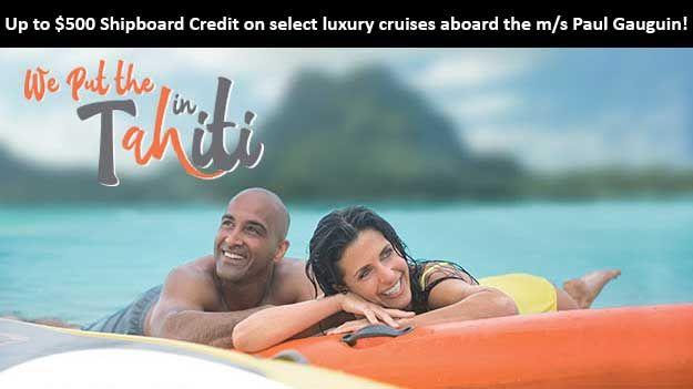 """We Put the """"Ah"""" in Tahiti - https://traveloni.com/vacation-deals/put-ah-tahiti/ #gocruising #southpacific #tahiti"""