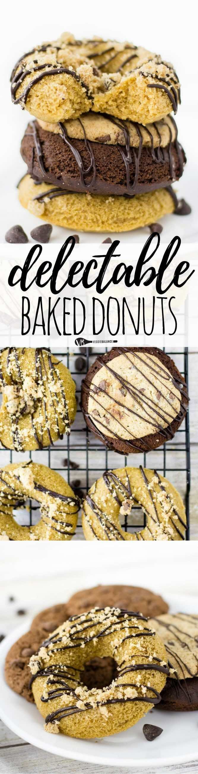 Gluten Free Donuts recipe made in a flash and no frying required. Make them two ways, classic or decadent chocolate. Both are a real treat you just have to have for breakfast one of these mornings. (Gluten Free, Dairy Free, Egg-free)