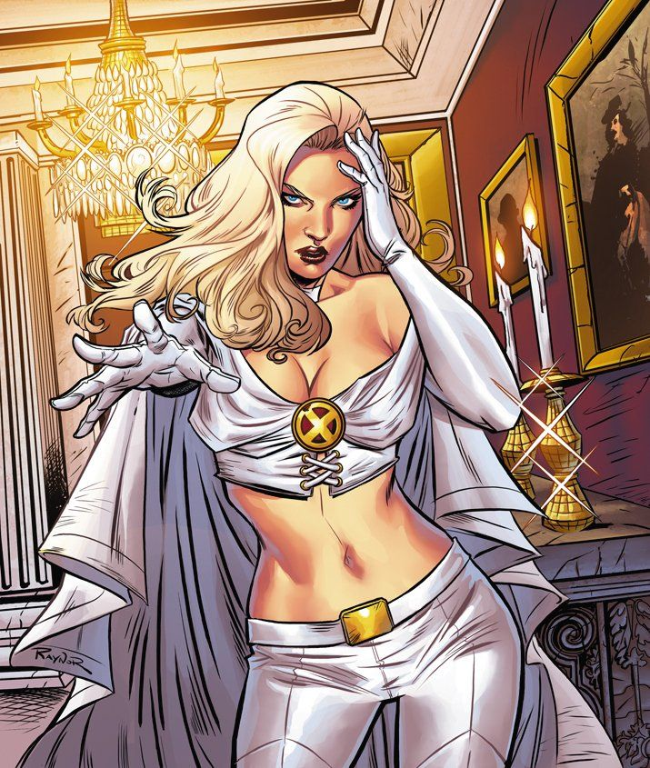 Emma Frost. a.k.a the white queen is Alia's arch enemy