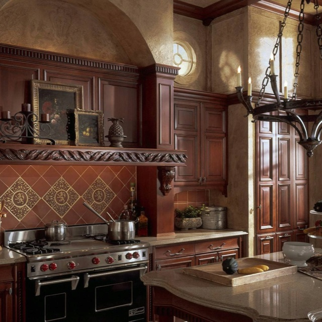 find this pin and more on old world kitchens - Old World Kitchen Cabinets