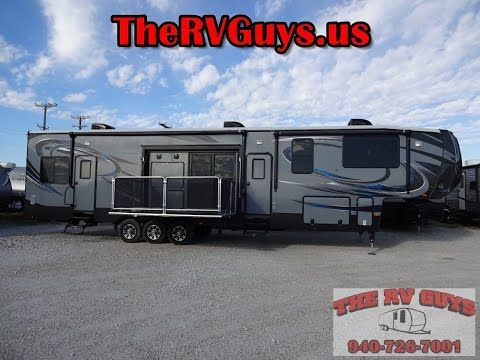 Cyclone 4200 Toy Hauler By Heartland RV, True Luxury In A 5th Wheel Toy Hauler! - YouTube