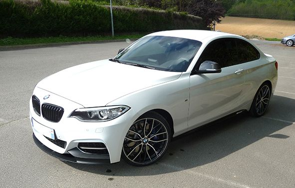 BMW M235i with M Performance Parts - http://www.bmwblog.com/2014/04/24/bmw-m235i-m-performance-parts/