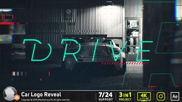 Car Logo Reveal 20426344 Videohive Free Download After Effects