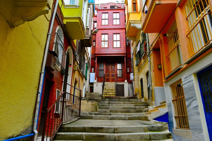 Cihangir Neighborhood, Istanbul, Turkey