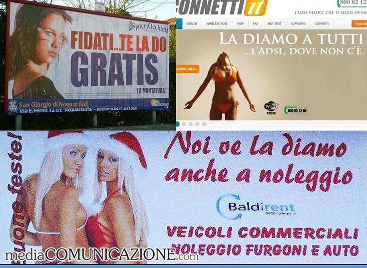 I Cartelloni pubblicitari più allusivi: PROMESSE AMBIGUE. http://mediacomunicazione.net/2014/09/21/i-cartelloni-pubblicitari-allusivi-virali-web/