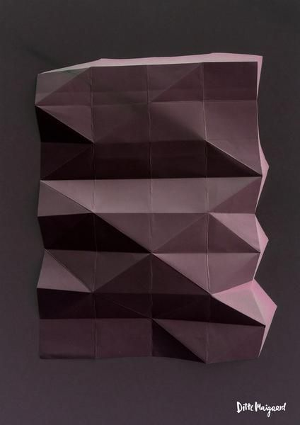 Fold no 1 Limited Edition Giclee Print - 30x40 | Ditte Maigaard Studio