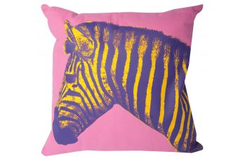 Zebra Print Cushion available at meizai