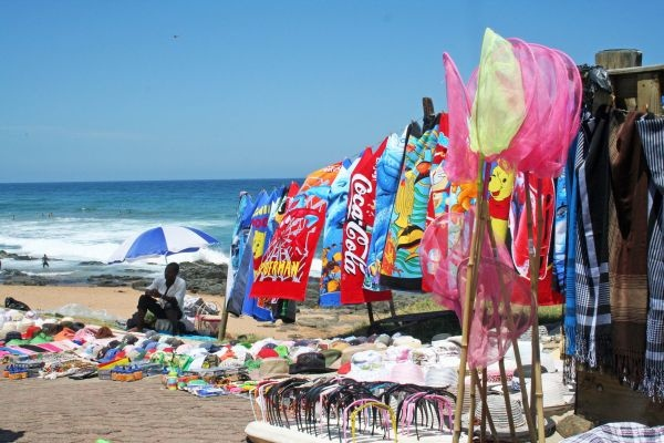 Summer beach holiday at Ballito