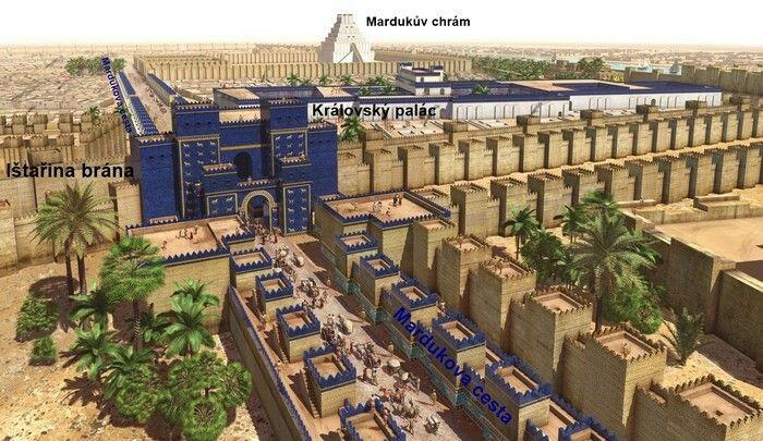 Mardukova cesta - ištařina brána